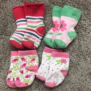 Baby girl sock bundle